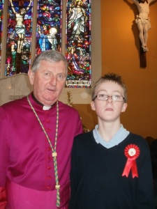 James with the Bishop