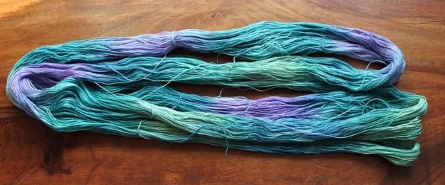 """Fyberspates Silk in """"Leprechaun"""""""