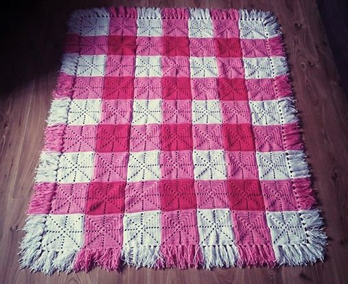 Rose Burrow Blanket