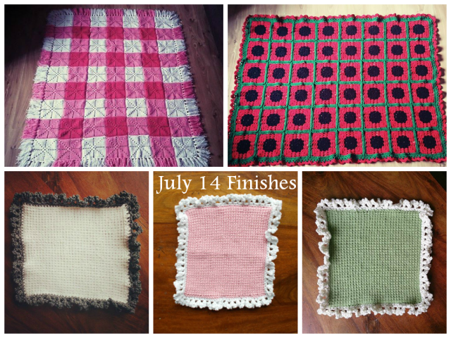 July Finishes