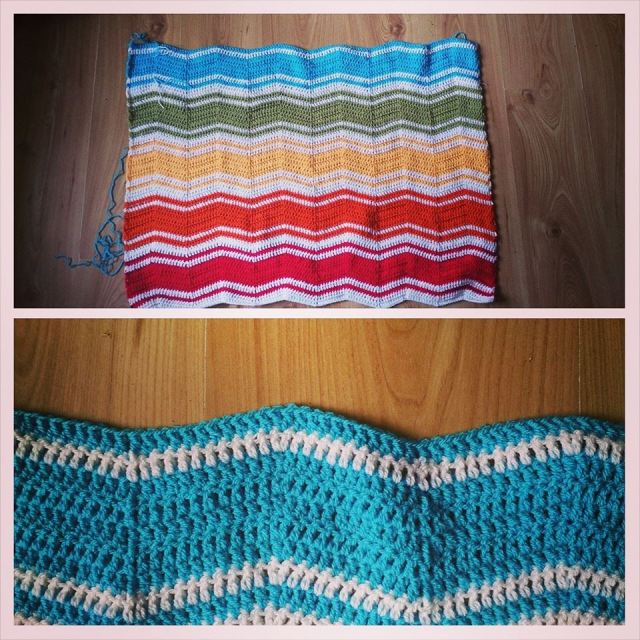 Rainbow Chevrons Blanket