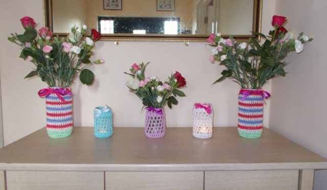 Tealight and Flower Vase Holders